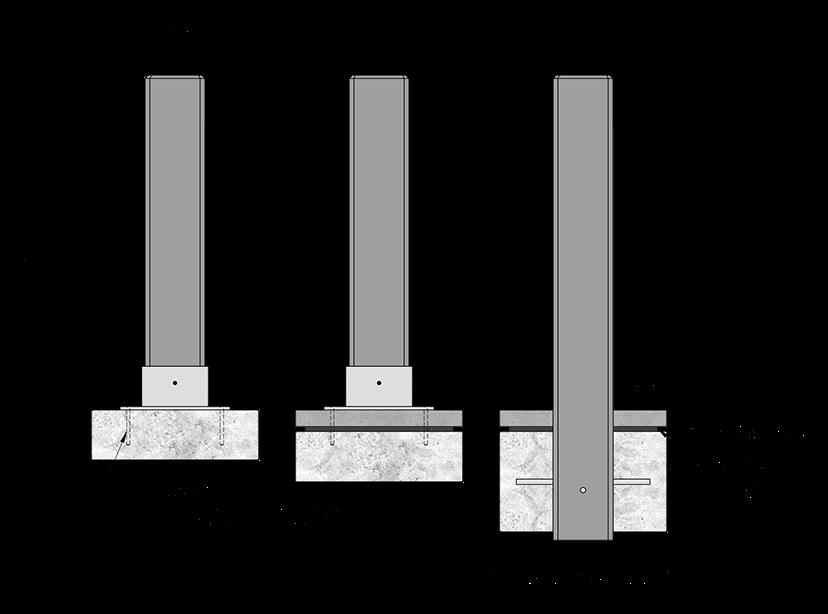 Urban Design Systems Bollards Decorative Laser Cut Metal