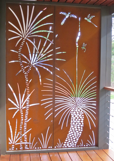 Urban Design Systems |GRASS TREE- Decorative Laser Cut ...