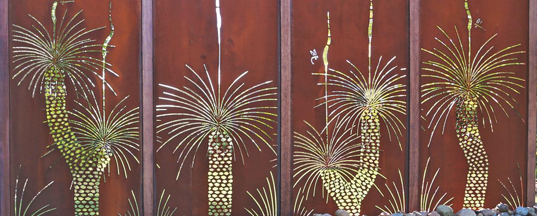 Merveilleux Laser Cut Custom U0027Grass Treeu0027 Design © Urban Design Systems