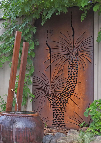Urban Design Systems Grass Tree Decorative Laser Cut