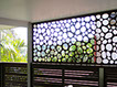 LASER CUT WINDOW SCREENING - RIVER STONES
