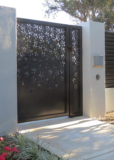 Home Design Gate Ideas: FRANGIPANI- Decorative Laser Cut